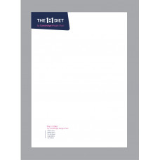 Personalised A4 Letterheaded Paper