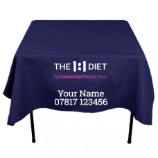 Printed - The 1:1 DietTablecloth - Square