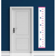Wall mounted tape measure