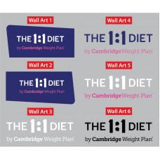 The 1:1 Diet - Wall art